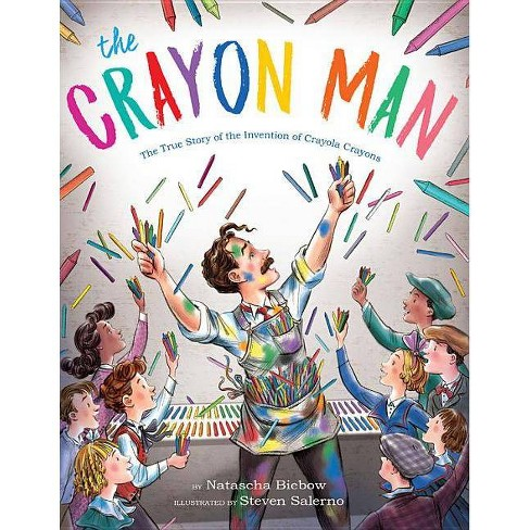 The Crayon Man - by  Natascha Biebow (Hardcover) - image 1 of 1