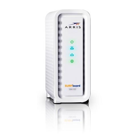 ARRIS SURFboard 16X Cable Modem - White (SB6183)
