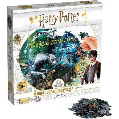 Top Trumps Harry Potter Magical Creatures 500 Piece Jigsaw Puzzle