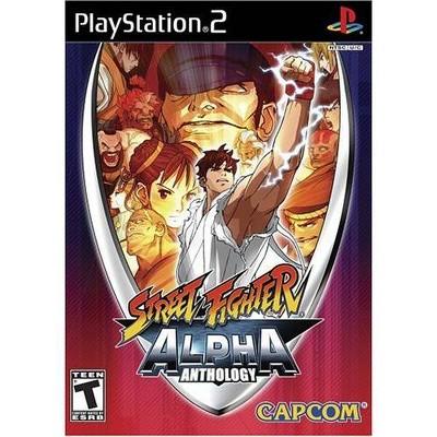 Street Fighter Alpha Anthology PS2