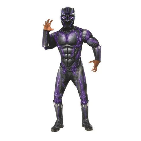 Kid's Marvel Black Panther Lightup Battle Costume Mask - image 1 of 1