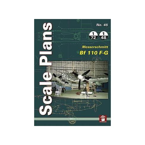 Messerschmitt Bf 110 F-g - (Scale Plans) by Maciej Noszczak (Paperback)
