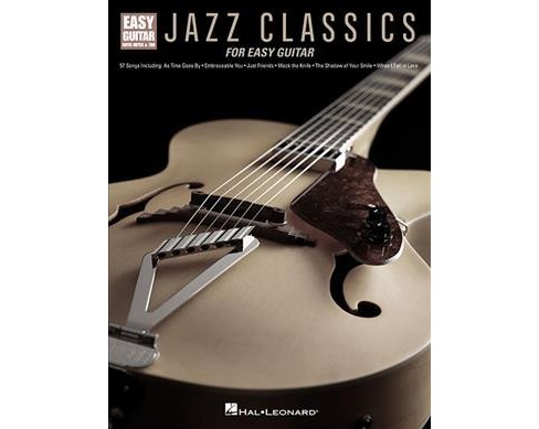 Jazz Classics for Easy Guitar (Paperback) - image 1 of 1