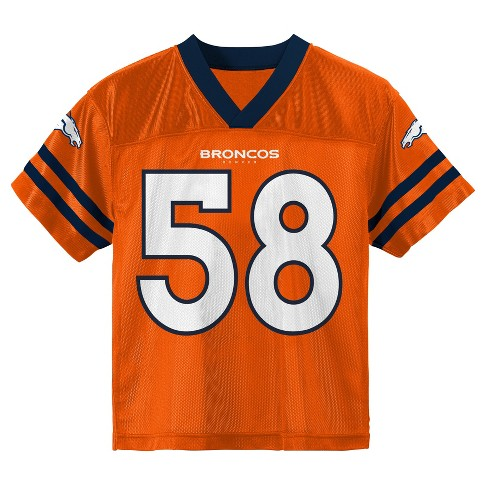 sale retailer fec70 1eb06 Denver Broncos Toddler Player Jersey 3T