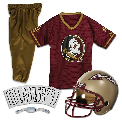 wholesale dealer a37c2 5151b Franklin Sports Team Licensed Florida State Seminoles Deluxe Football  Uniform Set   Target