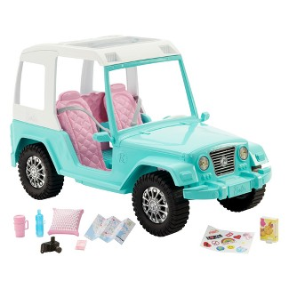 Barbie Pink Passport Jeep Vehicle