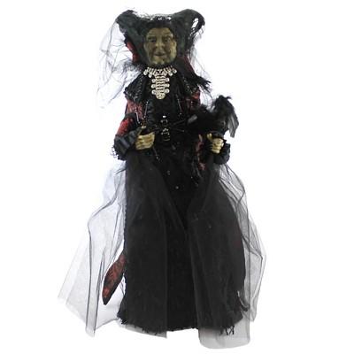 """Halloween 26.0"""" Black Widow Witch Crow Spider Wart  -  Decorative Figurines"""