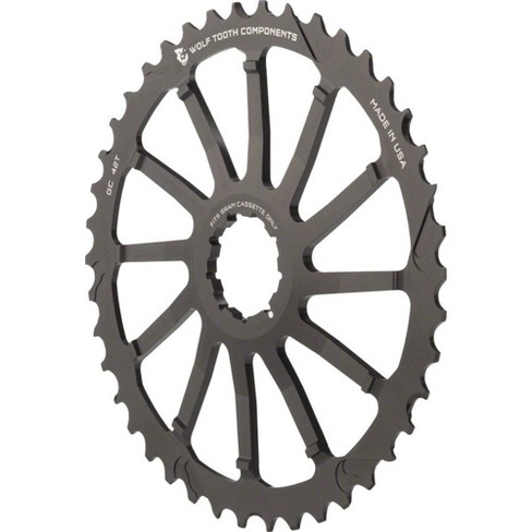 Wolf Tooth Components 42T GC cog for SRAM 11-36 10-speed Cassettes Black - image 1 of 2