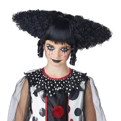 California Costumes Creepy Clown Women's Costume Wig - Black