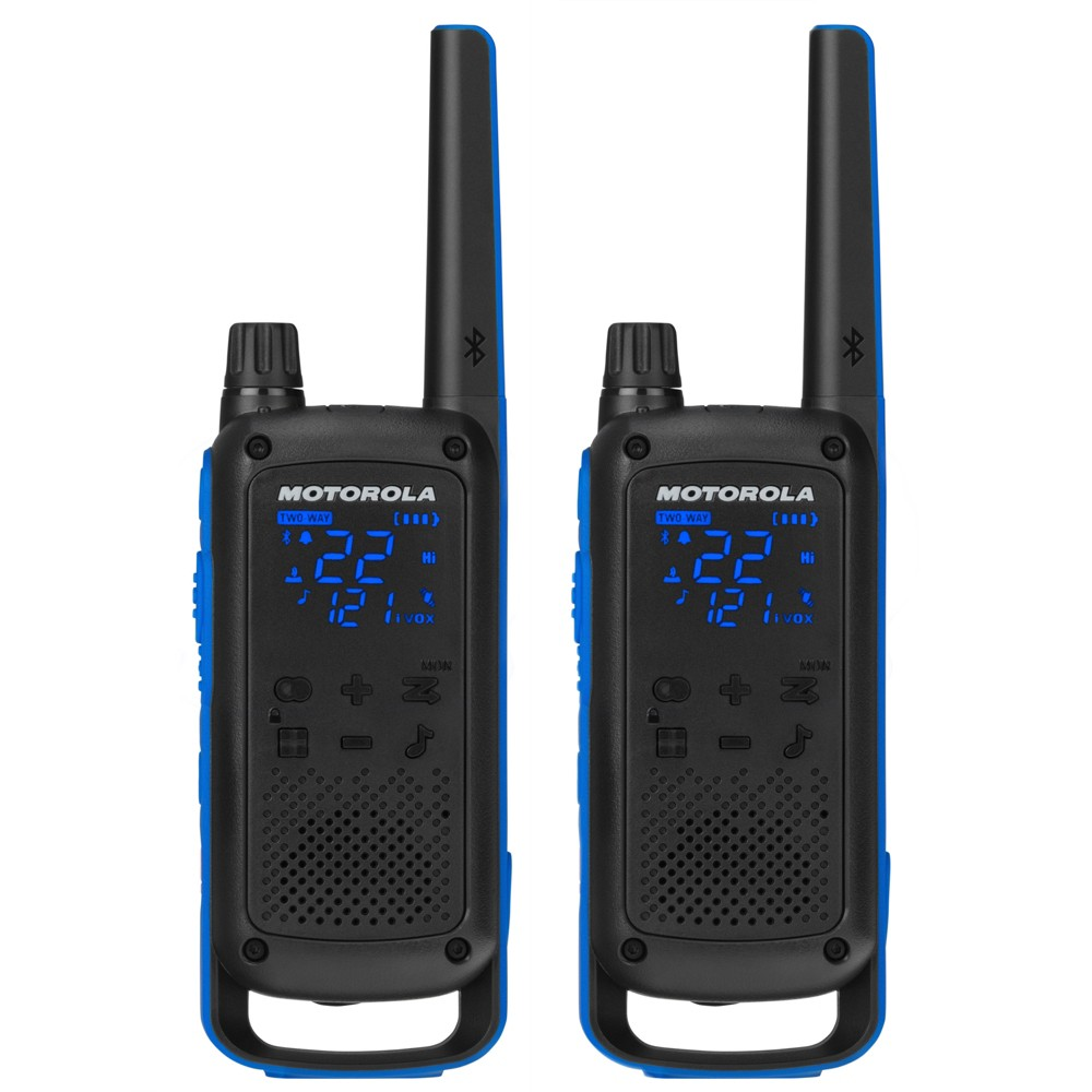 Motorola Talkabout T800 Two-Way Radios (2pk), Black Motorola Talkabout T800 Two-Way Radios (2pk) Color: Black.