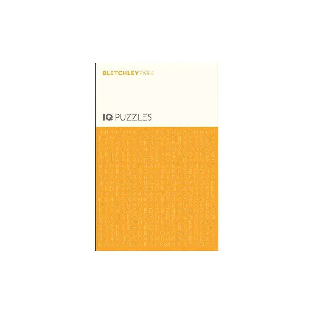 Bletchley Park IQ Puzzles - (Bletchley Park Puzzles) (Paperback)