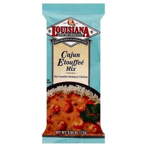 Louisiana Fish Fry Cajun Etouffée Mix - 2.65oz - image 1 of 3