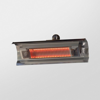 Stainless Steel Wall Mounted Infrared Patio Heater - Fire Sense