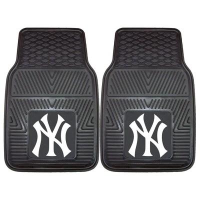 MLB New York Yankees Vinyl Car Mat Set - 2pc