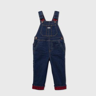OshKosh B'gosh Toddler Boys' Denim Overall - Dark Wash 12M