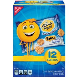 Honey Maid® Graham Snacks The Emoji Movie - 12oz - 12pk