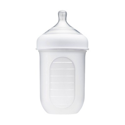 Boon NURSH 4oz Silicone Bottle - Clear