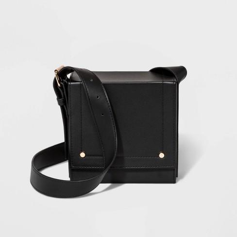 affce73cc0 Square Crossbody Bag - A New Day™ Black : Target