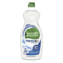 Seventh Generation Free & Clear Liquid Hand Dish Soap - 25oz