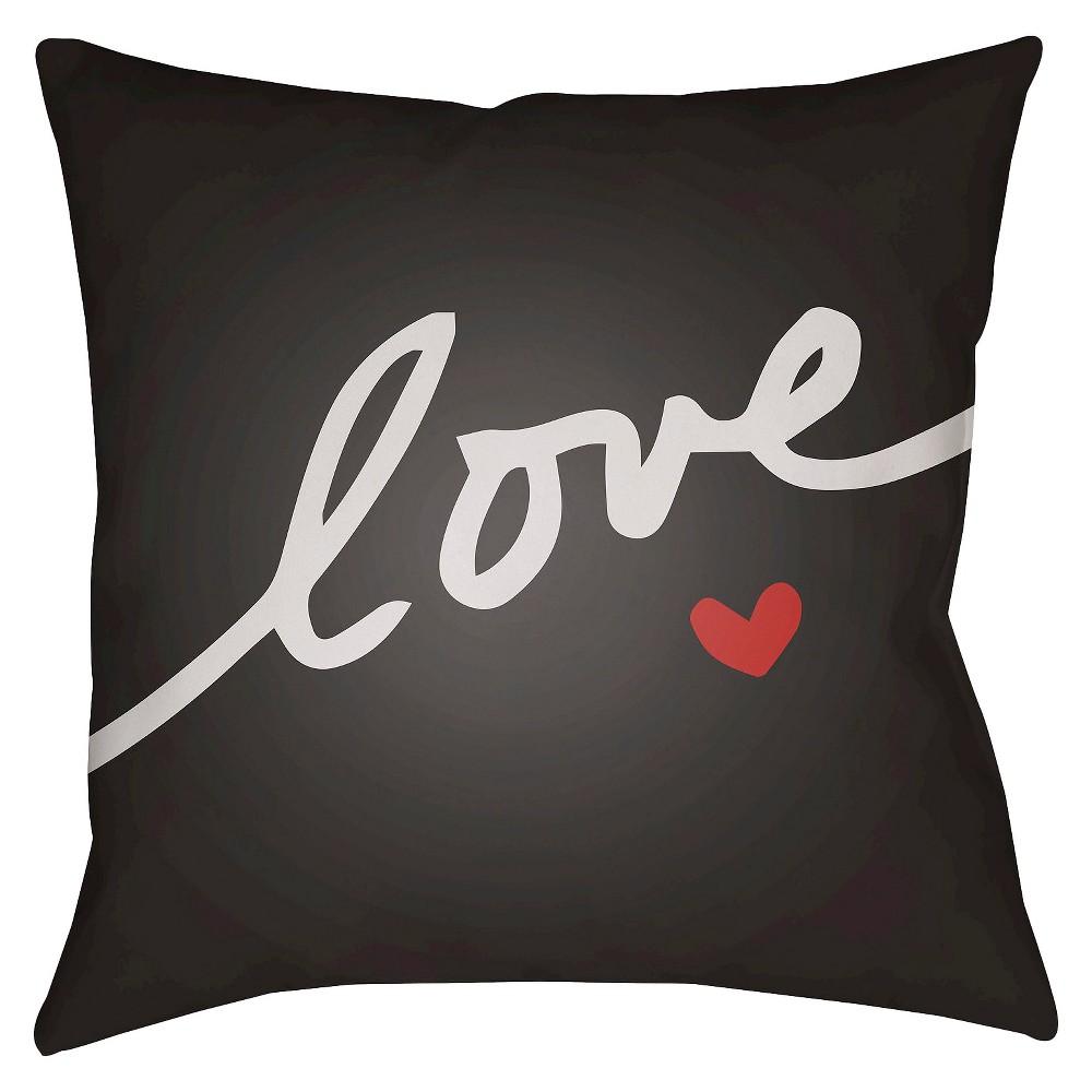 Black Love Forever Throw Pillow 20