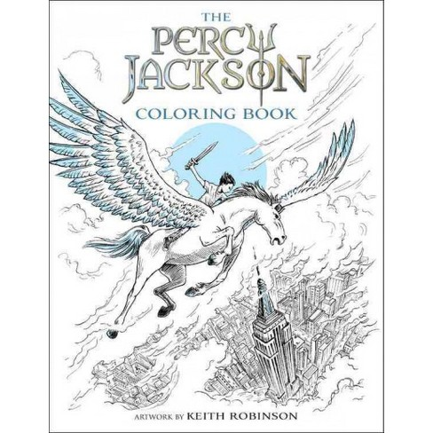 Percy Jackson Coloring Book Paperback Rick Riordan Target