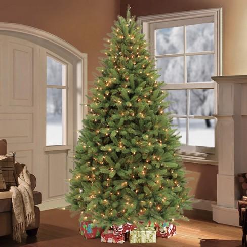 6.5ft Prelit Artificial Christmas Tree Davenport Fir - 6.5ft Prelit Artificial Christmas Tree Davenport Fir : Target