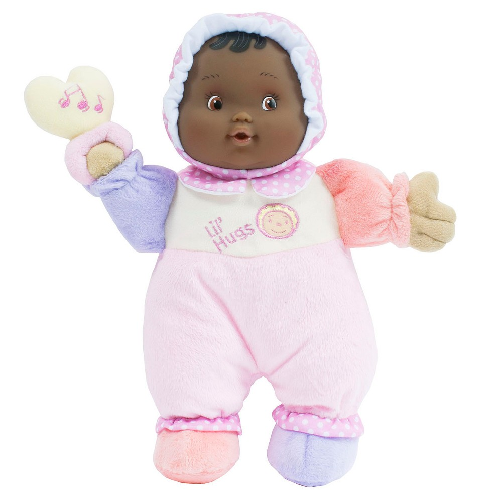 JC Toys Lil' Hugs Brown Eyed Soft Body Your First Baby Do...