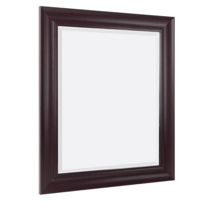"28.5"" x 34.5"" Frame Mirror Espresso - Head West"