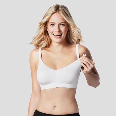 Bravado! Designs® Women's Body Silk Seamless Nursing Bra - White M