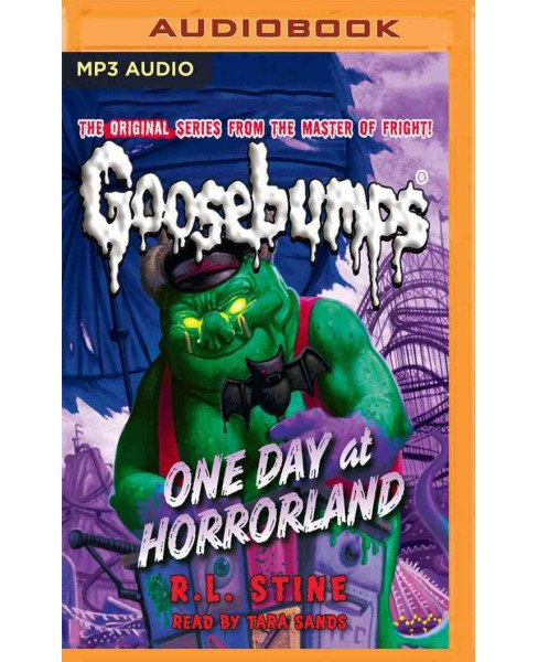 One Day at Horrorland (MP3-CD) (R. L. Stine) - image 1 of 1