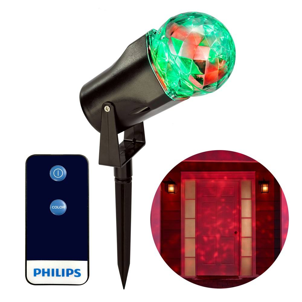 Philips 1ct Christmas Led Projector Pick-a-Color Remote, Multi-Colored