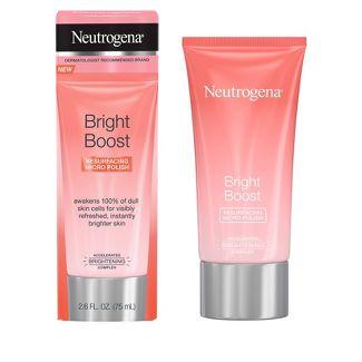 Neutrogena Bright Boost Resurfacing Micro Polish - 2.6 fl oz