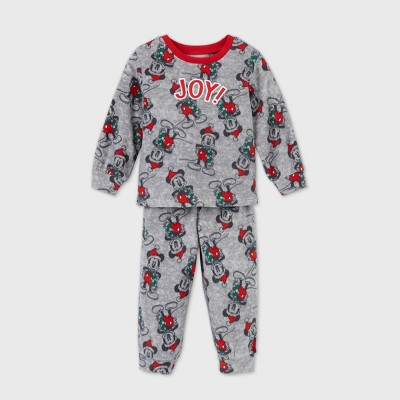 Toddler Mickey Mouse & Friends 2pc Pajama Set - Gray - Disney Store