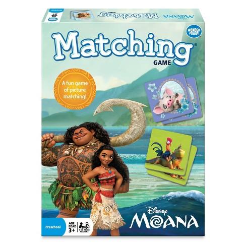 Disney Moana Matching Game - image 1 of 4