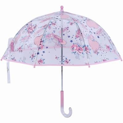 Laura Ashley Girls' Clear Dome Umbrella