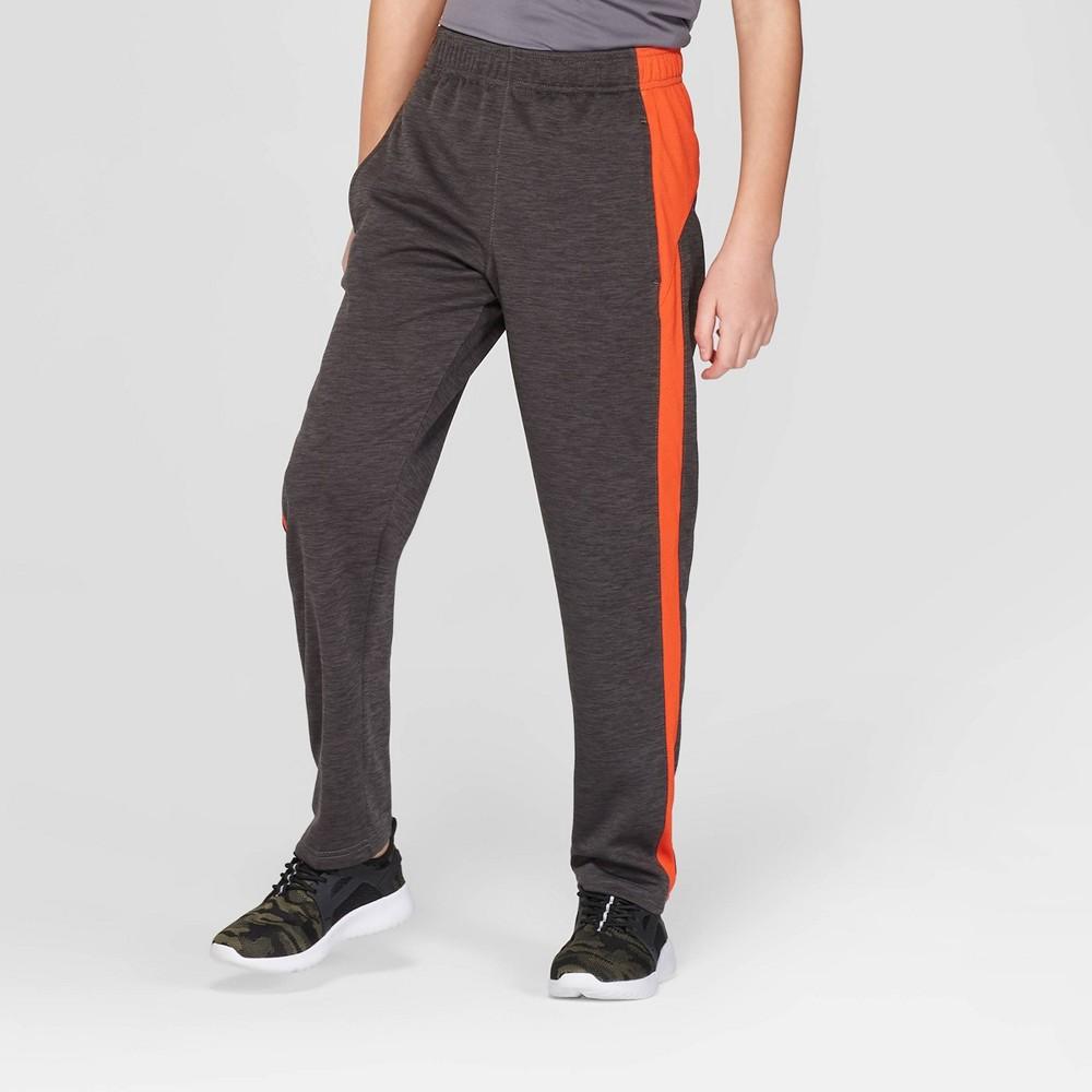 Boys' Core Training Pants - C9 Champion Charcoal Grey S, Orange