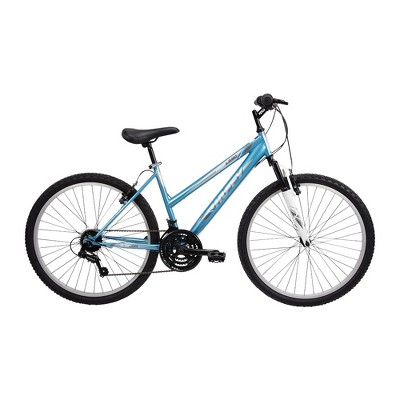 "Huffy Women's Highland 26"" Mountain Bike - Blue/Silver"
