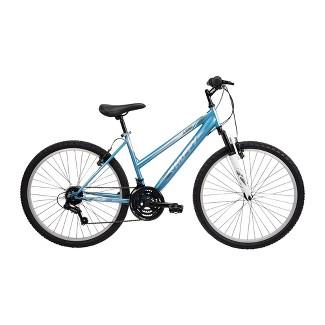 "Huffy Womens Highland 26"" Mountain Bike - Blue/Silver"