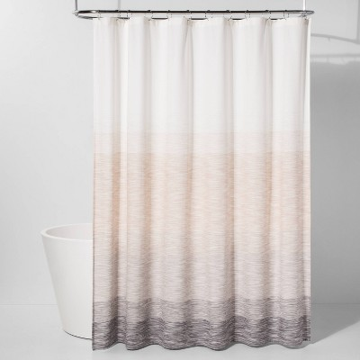Spacedye Shower Curtain Neutral/Ombre - Project 62™