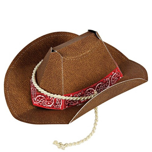 Meri Meri - Howdy Cowboy Party Hat - 8 box - Wearable Party Accessories - 8ct - image 1 of 2