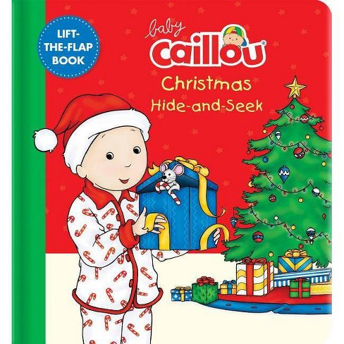 Baby Caillou: Christmas Hide-And-Seek - (Board_book) - image 1 of 1