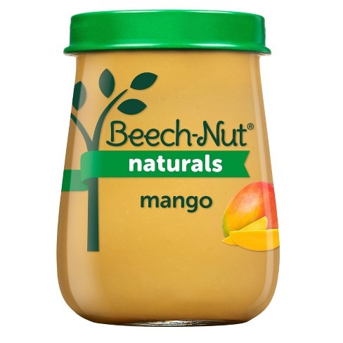 Beech-Nut Naturals Mango Baby Food Jar - 4oz - image 1 of 3