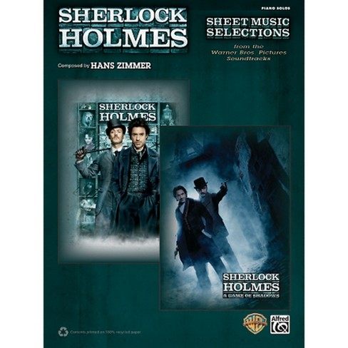Alfred Sherlock Holmes Sheet Music Selections Advanced Piano Solos Book - image 1 of 1