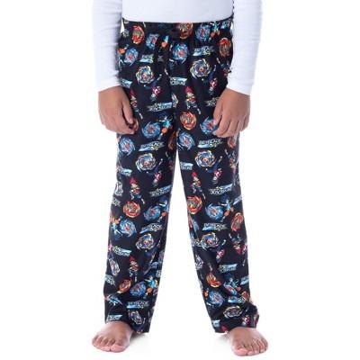 Beyblade Burst Super King Boys' Spinner Tops Character Kids Pajama Pants