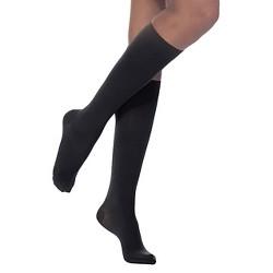 433ecf0536 Sigvaris Women's Casual Cotton Compression Sock 15-20 MmHg : Target
