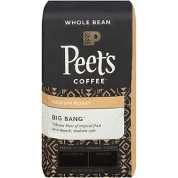 Peet's Big Bang Medium Roast Whole Bean Coffee - 12oz