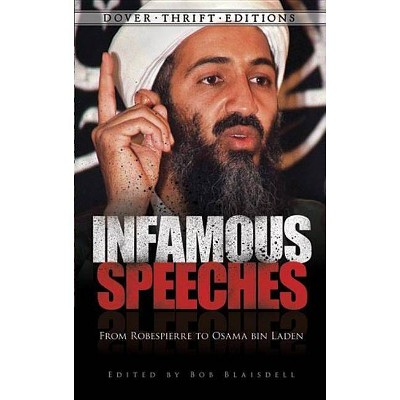 Infamous Speeches - (Dover Thrift Editions) by  Bob Blaisdell (Paperback)