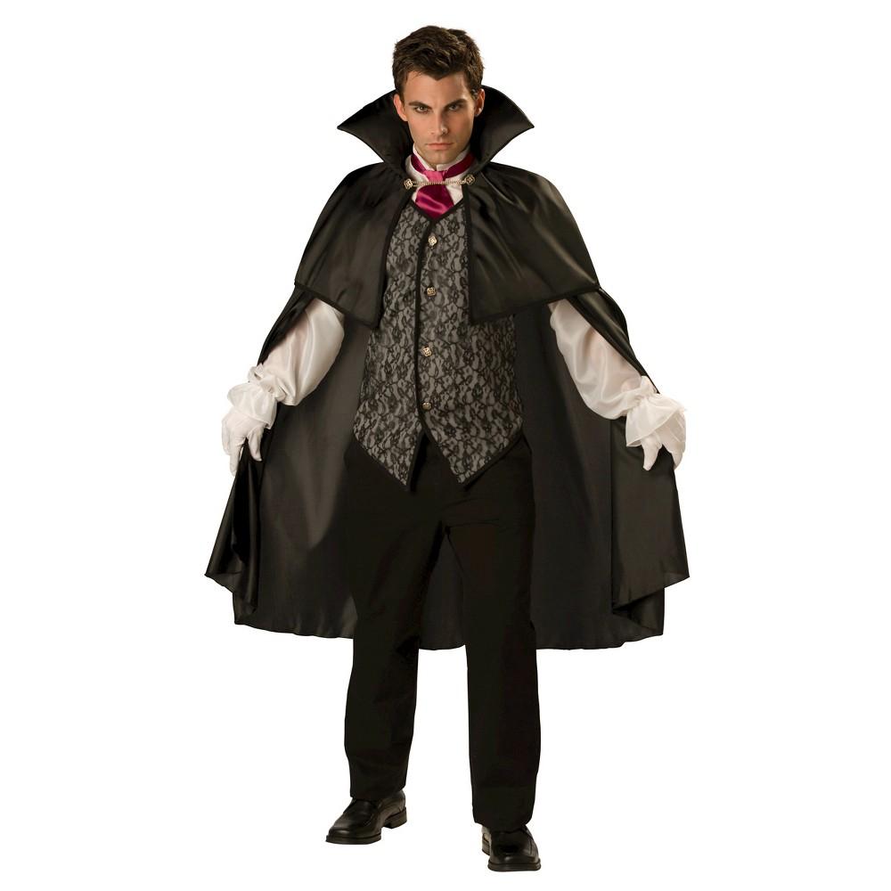 Image of Halloween Men's Vampire 2B Costume Large, Black