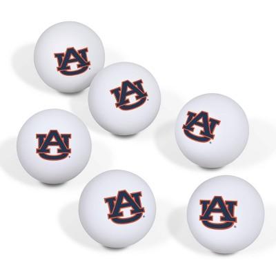 NCAA Auburn Tigers Table Tennis Balls 6pk