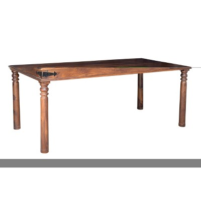 Thakat Handcrafted Dining Table Natural - Timbergirl